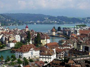 suiza, destinos, lago