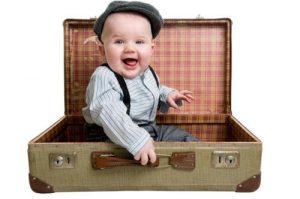 transporte, bebés, viajar con niños,