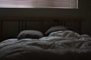 descanso, cama, dormir, fuerzas, bebé, mamá
