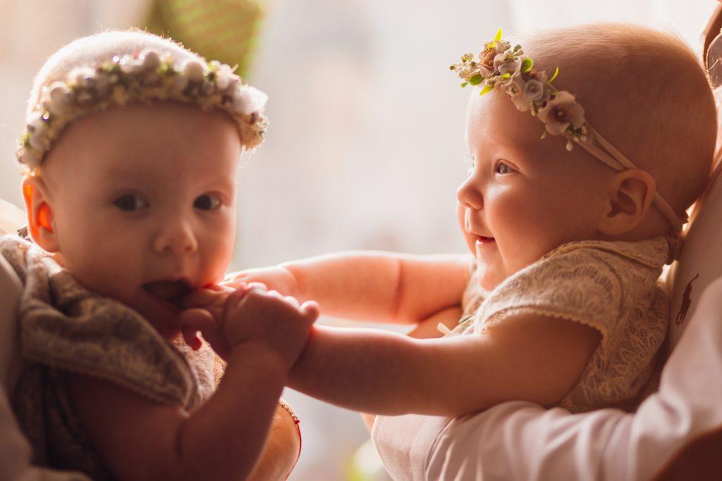 gemelos, mellizos, bebés, cuidado