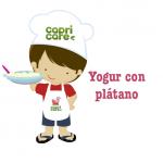 yogur, Capricare, leche de fórmula, plátano, leche de continuación