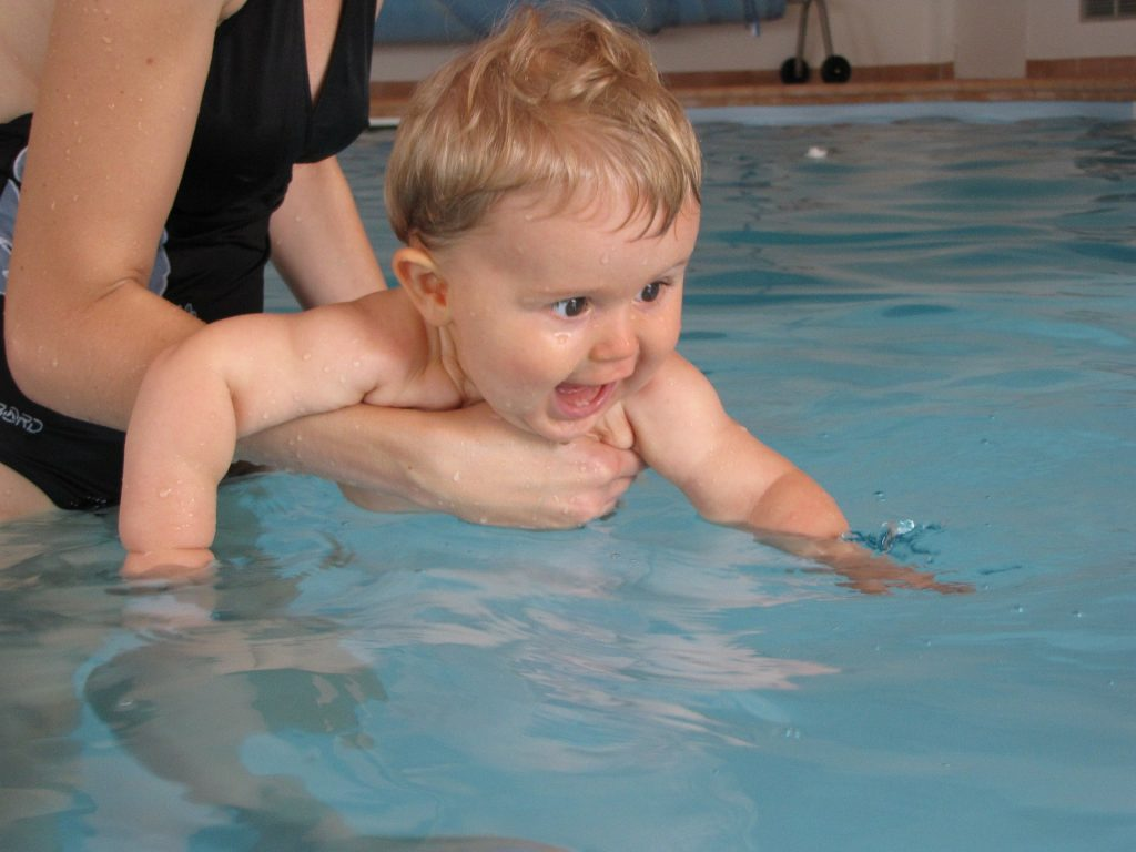 natación, matronatación, bebé, verano, piscina
